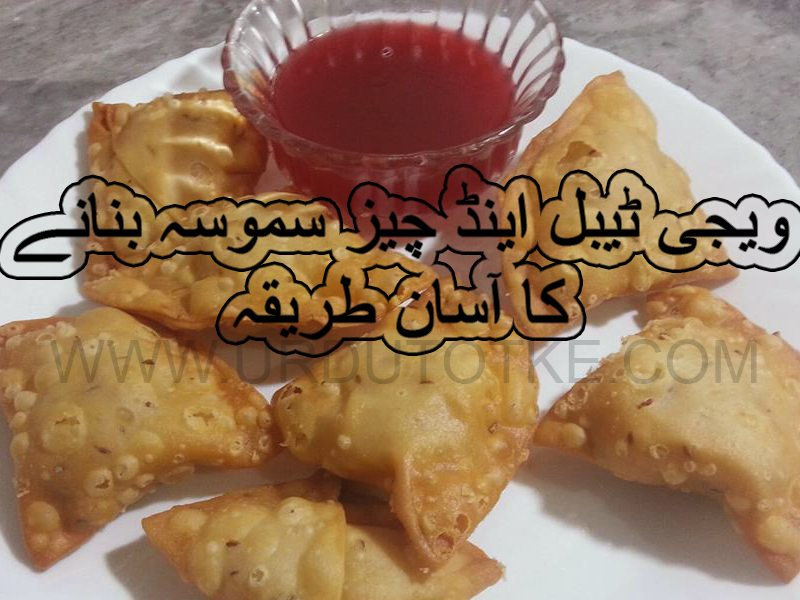 vegetable and cheese samosa recipes in hindi