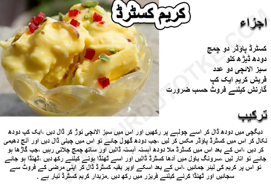 custard filling recipe for cream puffs