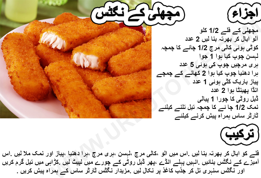 fish nuggets pakistani recipe