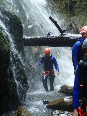 Canyon de Phista - Ur eta Lur Canyoning et randonnée
