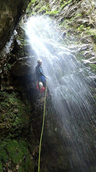 Canyon d'Errekaltia, Pays basque - Ur eta Lur, Canyoning et Randonnée