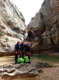 Canyon du Mascún, Sierra de Guara - Ur eta Lur, Canyoning, Spéléo et Randonnée