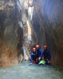 Oscuros del Balcez, Sierrra de Guara - Ur eta Lur Canyoning, Spéléo et Randonnée