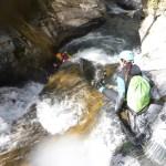 Canyon du Cangeigt Ur eta Lur, Canyoning et Randonée