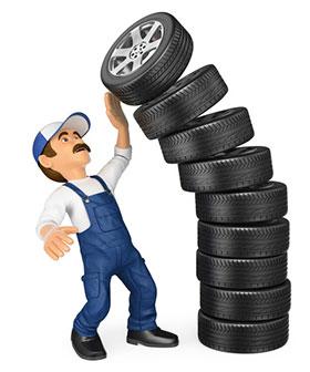 société de réparation de pneu sur place Paris