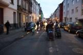 ... geht es die Märkische Straße runter ...