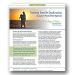 Treating Erectile Dysfunction Surgical Options