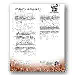 Hormonal Therapy Fact Sheet