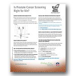 Is Prostate Cancer Screening Right for Me?