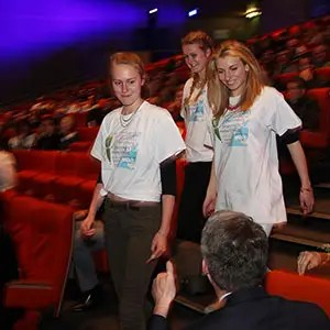 Photo de remise de médailles lors d'un évènement corporate à Grenoble