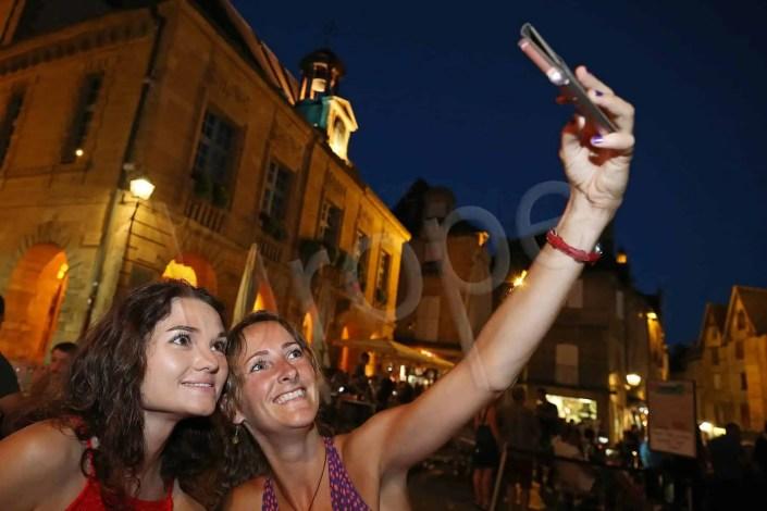 Selfie de nuit à Sarlat