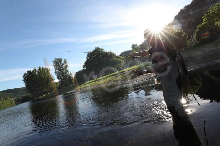 Pêche à la mouche à la Roque-Gageac