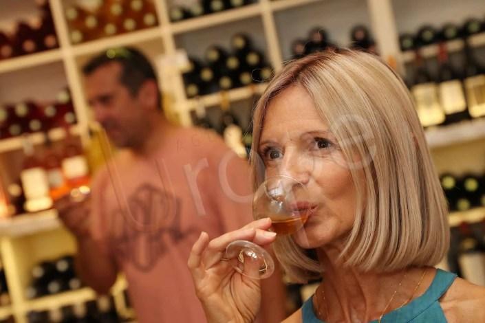 Visuel de dégustation de vin