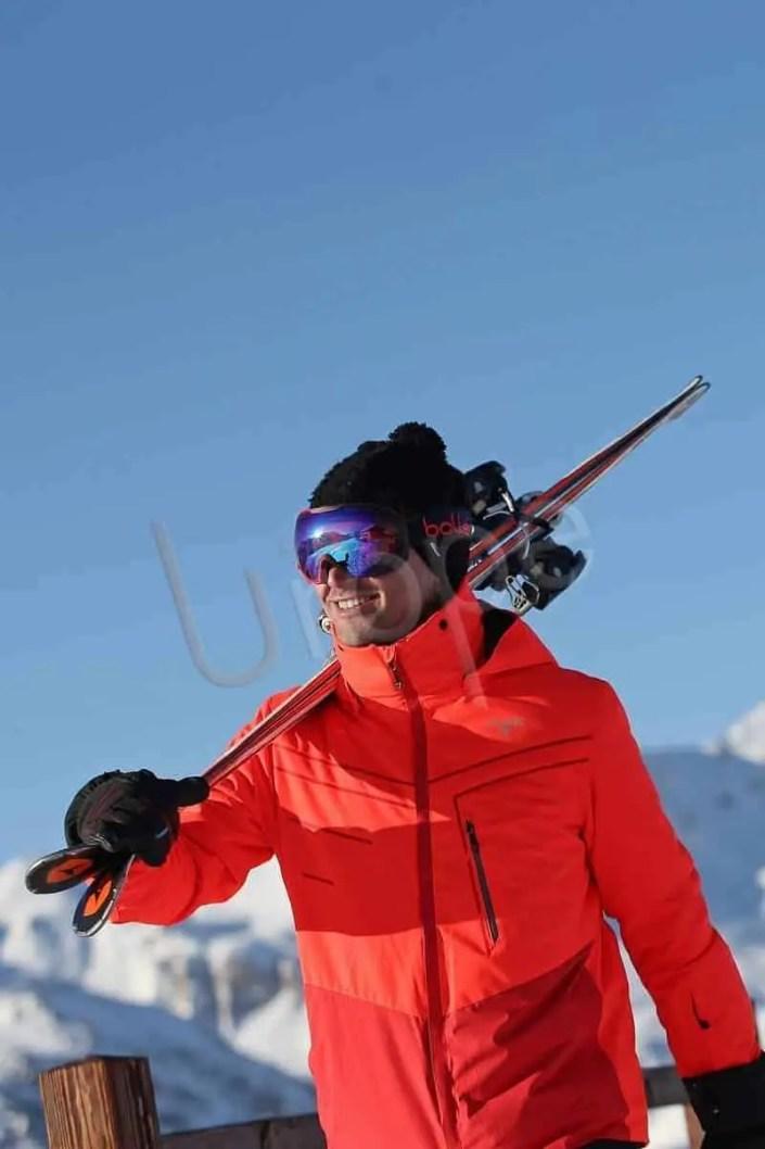 Image d'Homme en ski à à Val d'Isère