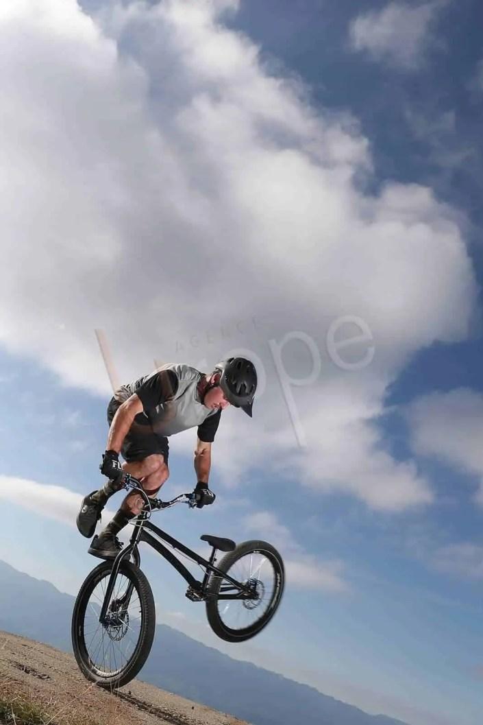 Image au flash de vélo