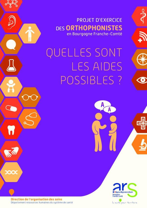 dépliant de l'aide à l'installation de l'URPS des Orthophonistes de Bourgogne Franche-Comté