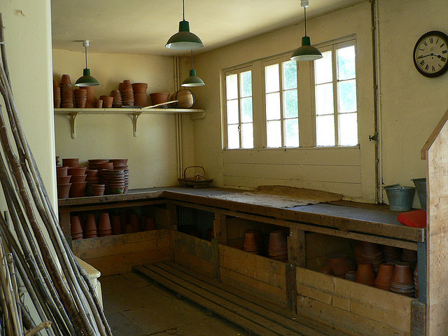 Osborne House Potting Shed