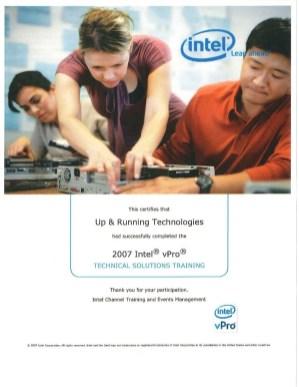 Intel-Business-vPro-Training