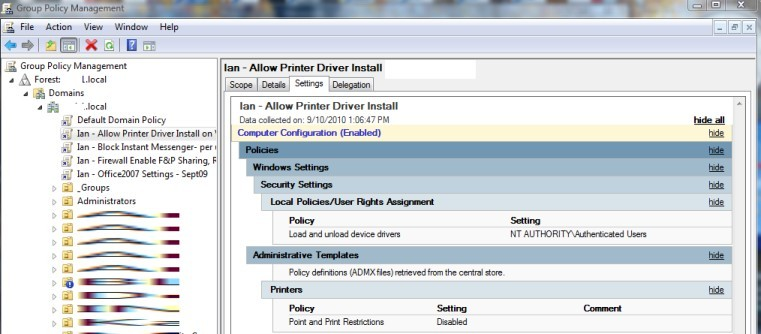 How To Disable UAC Elevation Prompt for Point and Print