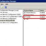 7b Enable TCP in SQL Server