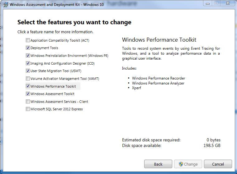 windows-assesement-and-deployment-kit-windows-10-options