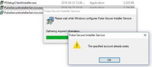 SOLVED: THE SPECIFIED ACCOUNT ALREADY EXISTS Error with MSI or EXE
