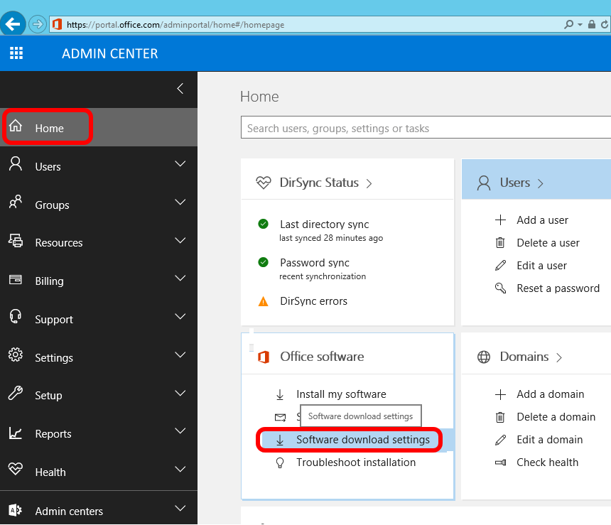 SOLVED: Office365 Your admin has turned off Office installs – Up