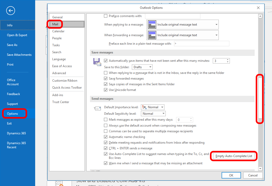 SOLVED: How To Reset The Outlook Address Cache – Up & Running