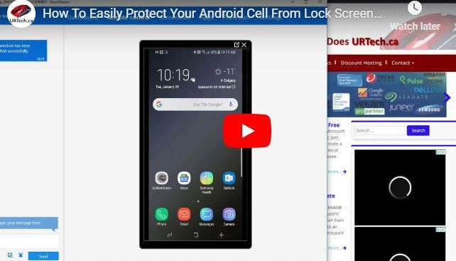 VIDEO: How To Easily Protect Your Android Cell From Lock