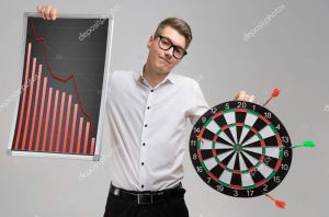 deposit photos graph man darts