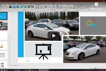 25 PowerPoint 2019 Tips & Tricks Video 2