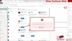 Blocked Manage Addins in new Outlook Web Access 2