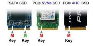 M and B Keys m2 SSD