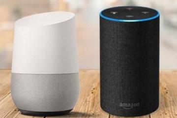 Amazon Echo Alexa vs Google Home