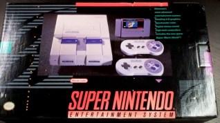 super nintendo entertainment system retail box