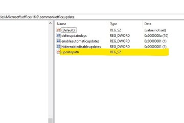Office365ProPlus Registry Entries For Updates Using Delivery Optimization