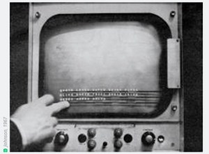 First Touch Screen 1967