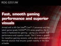 Asus ROG G551J - Gaming