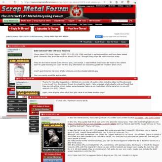 Scrap Metal Forum CPU Recycling Value