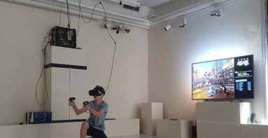oculus rift teather