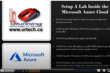 setup a lab azure boot camp microsoft