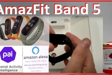Amazfit Band 5 Unboxing Setup and Review pai alexa band colors white