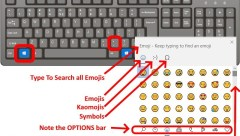 SOLVED: How To Start & Use the Windows Emoji Icon Keyboard