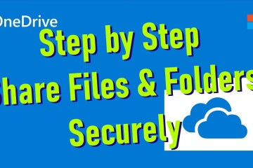 step by step share onedive files and folders securely