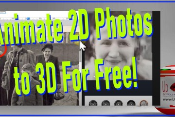 animate 2d photos to 3d movies for free