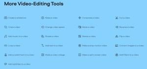 film editing tools