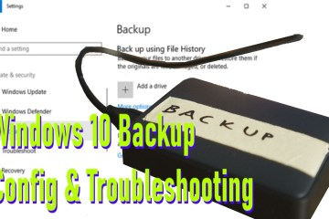 windows 10 backup config troubleshooting