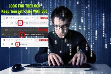 keep safe with SSL