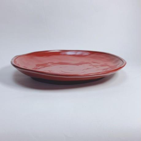 ランチ皿(古代朱)