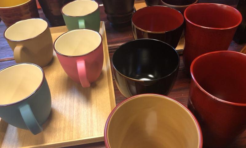 漆塗りのカップには魅力がたくさん詰まっている